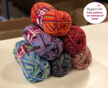 Stylecraft Colour Pool Aran 200g
